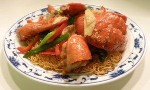 nancy lobster noodles